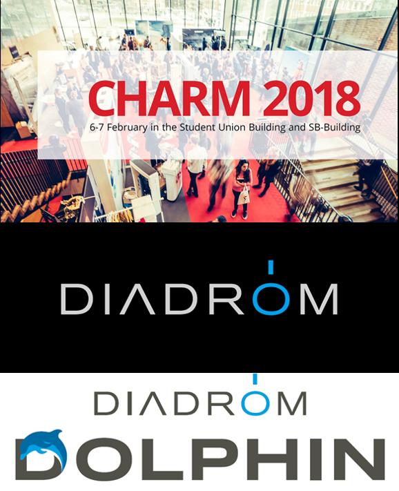 Diadrom på CHARM 2018 under 6-7 februari